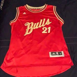 Jimmy Butler #21 Christmas 2015-2016 Bulls Jersey